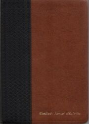 Holy Bible Scofield Study Bible Nasb 5511rrl Leather 2005 Thumb Index Red Letter