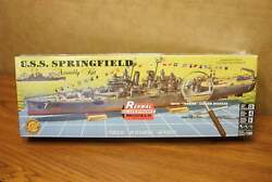 REVELLRENWAL U.S.S. SPRINGFIELD with