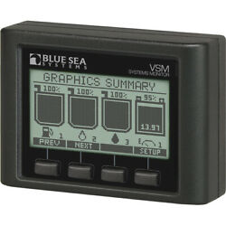 Blue Sea Systems 1800 Ac/dc Boat Vessel Electrical System Monitor Vsm 422