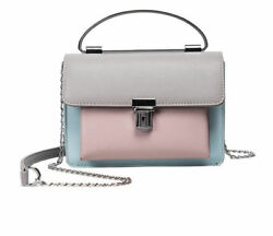 High Quality  Cute Small Ladies Messenger Bags Leather Cross-body For Girl Fashi