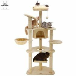 Cattrees Towersonsale Furniture Condo Climbing Activity Scratcher Playhouse