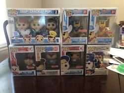 Funko Pop Ad Icons Target Exclusives Twinkie Chase Capn Crunch Noid Joe Scp Kdd
