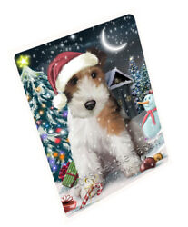 Have a Holly Jolly Wire Fox Terrier Dog Christmas Blanket BLNKT81948
