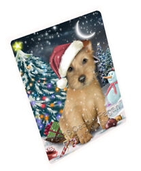 Have a Holly Jolly Australian Terrier Dog Christmas Blanket BLNKT81372