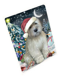 Have a Holly Jolly Wheaten Terrier Dog Christmas Blanket BLNKT81912