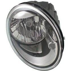 Headlight For 2012-2015 2016 2017 2018 Volkswagen Beetle Right With Bulb