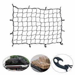 36x60 Heavy Duty Universal Cargo Net Bungee Stretches Pickup Truck Suv Rooftop