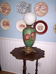 Gone With The Wind Lamp Very Old  Civil War Era Mid 1800s Reduced