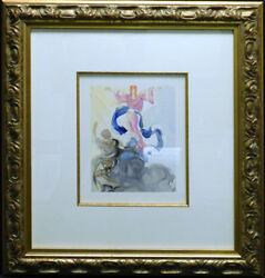 Salvador Dali The Divine Comedy Paradise Canto3 Woodblock Artwork Submit Offer