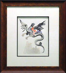 Salvador Dali The Divine Comedy Hell Canto17 Woodblock Artwork Submit Offer