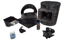 Simply Ponds 1200 Water Garden And Pond Kit With 15and039 X 15and039 Pvc Liner-tgpvcx8-0