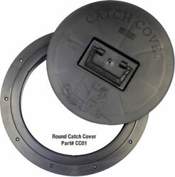 2 Pk Catch Cover Round Trim Fish House Fishouse Hole Catch Cover Ice Fishing Usa
