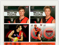 Afl Trading Card Master Team Collection Essendon-2011 Select Afl Infinity