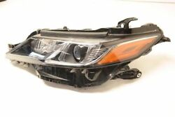Left Headlamp Bi LED Amber Daytime Running Assembly Fits 2018 Toyota Camry OEM