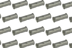 3/0 Awg Temco Butt Splice Connector Tin Plated Copper Uninsulated Gauge. 25 Pack
