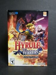 Hyrule Warriors Limited Edition Legend Zelda Wii U EXTREMELY RARE NEW SEALED NM