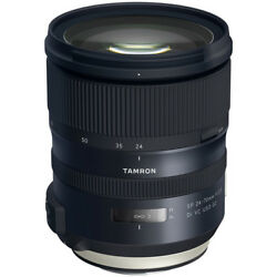 Tamron Sp 24-70mm F/2.8 Di Vc Usd G2 Lens For Canon Full Frame Usa Warranty
