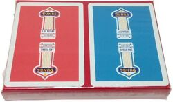 Casino Playing Cards - Dunes Hotel Vintage New Red And Blue Decks - Las Vegas Nv