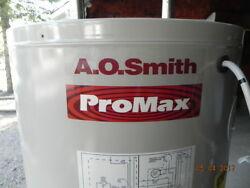 Used A.O. Smith Water Heater Part: Res Gas Model GPVH 40 100; Piping Valves