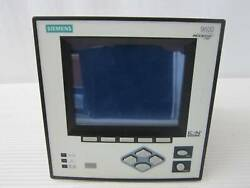 Siemens 9600 9600dc-1156-bfza Power Meter Display Ion Ethernet Access