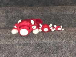 Ty Beanie Baby, Snort The Red Bull, Pe Pellets,no Tags But Good Condition