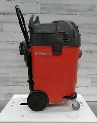 Used Husqvarna Wet/dry Dc 1400 Shop Vac Water Remover Commercial Cleaning Vacuum