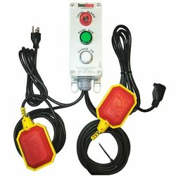 Sump Alarm - Indoor / Outdoor High Water Alarm And Pump Monitor W/ 100and039 Float Cord