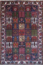 Authentic Wool Rnr-9239 7and039 0 X 10and039 5 Persian Bakhtiari Rug