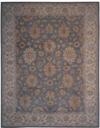Authentic Wool 8and039 1 X 10and039 2 Pakistan Peshawar Rug Rnr-9934