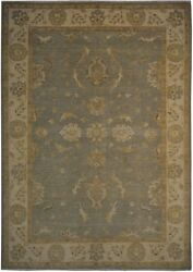 Authentic Wool 6and039 0 X 8and039 6 Pakistan Peshawar Rug Rnr-9981