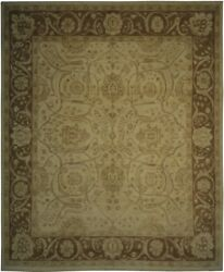 Authentic Wool 8and039 0 X 9and039 7 Pakistan Peshawar Rug Rnr-10045