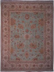 Authentic Wool 8' 0 X 10' 0 India Sultanabad Rug Rnr-9515