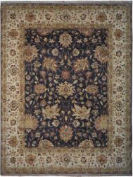 Authentic Wool 7' 9 X 10' 3 India Sultanabad Rug Rnr-9533