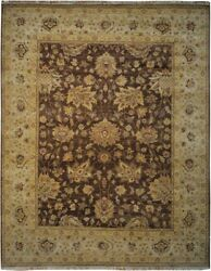 Authentic Wool 8' 1 X 10' 0 India Sultanabad Rug Rnr-9573