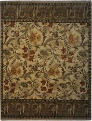 Authentic Wool 8' 0 X 10' 1 India Sultanabad Rug Rnr-9572