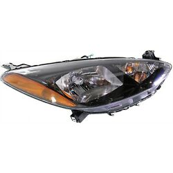 Headlight For 2011 2012 2013 2014 Mazda 2 Right With Bulb And Wiring Harness