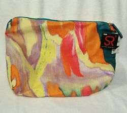 NEW w Tags Sondra Roberts Squared Brightly Colored Hobo Bag Nordstrom Tags