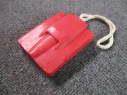 1967 Corvette Hood Soap On A Rope Rally Red Christmas Free Ship