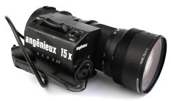 @ Angenieux Zoom 9-135mm F/1.5-1.9 With B4 Mount Model 15x9d W/ 2x Extender @