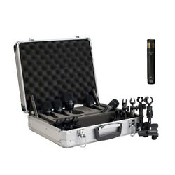 Audix FP7 Fusion 7 Drum Microphone Package wF9 Condenser Mic FP7 Plus Pack New