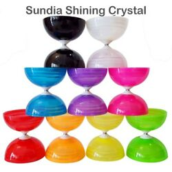 Sundia Shining Diabolo - Includes Wooden Sticks 2 Strings Instructions And Bag
