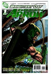 Green Arrow 1 Brightest Day Van Sciver Variant Cover August 2010 Dc Comics Nm-