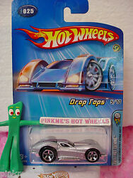 2005 5 Fe Hot Wheels And03963 Corvette Sting Ray 1963 025 /25 Andinfin Silber W/pink Andinfin