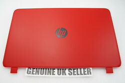 Red Hp 15-p Series Screen Lid Rear Back Cover - Non Touchscreen Version So710