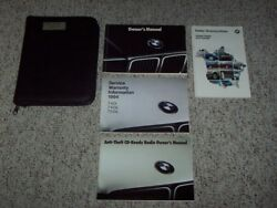1994 Bmw 7 Series 740i 740il 750il Sedan Owner Ownerand039s Manual User Guide Set