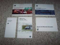 1998 Bmw M3 Sedan Coupe Owner Ownerand039s Manual User Guide Set 3.2l