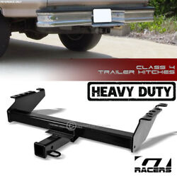 For 1980-2002 Dodge/ford Pickup Truck Class 4 Blk Trailer Hitch Receiver Tow 2
