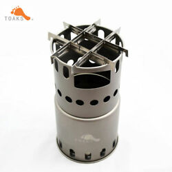 TOAKS STV-11 Stove Titanium Stove Backpacking Stove Camping Stove with bars