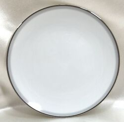 Noritake China Bread And Butter Plate Graytone 6257 White Discontinued 1962-1972