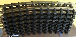 Usa Trains R81600 G Scale 8' Foot Diameter Curved Track 16 Pcs, Full Circle New